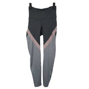 OLD NAVY NWT Gray & Pink Hi Rise Ankle Leggings XS